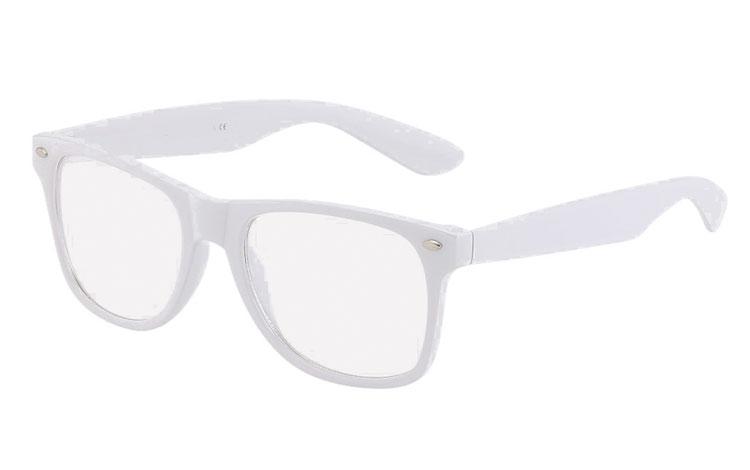 12d9f8950 Billige briller med klart glass, stort utvalg ✓