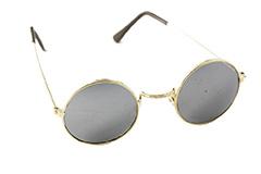 Små runde solbriller