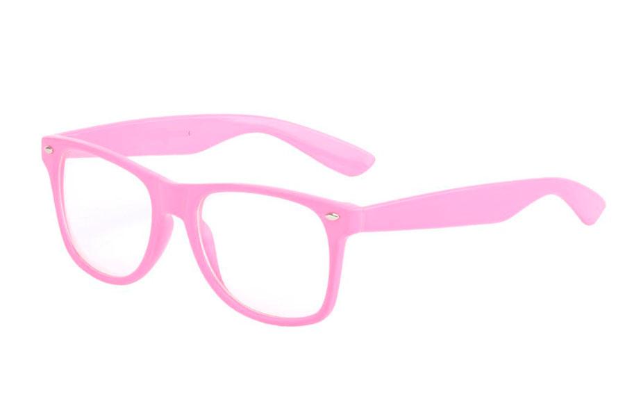 8d40e1b5790c Rosa briller i wayfarer modell - Design nr. 834